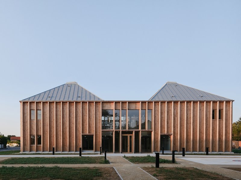 MAAJ ARCHITECTES: Medizinisches Zentrum Taverny - best architects 21