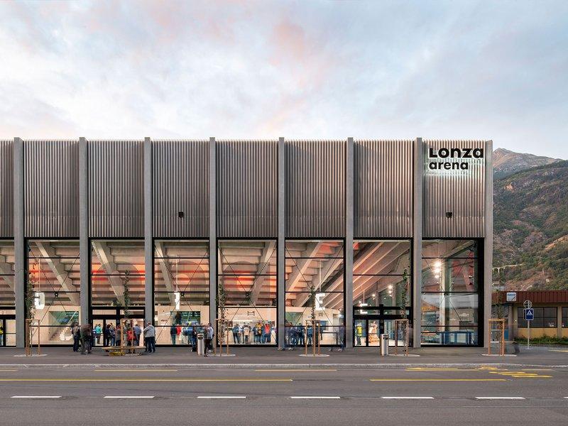ARGE Scheitlin Syfrig Architekten / rollimarchini: Lonza Arena - best architects 21