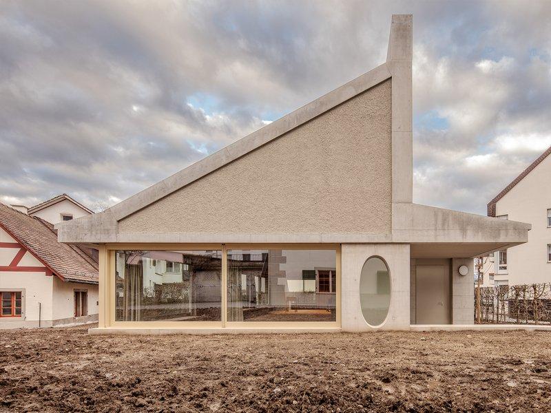 ARGE Joos & Mathys Architekten / Daniel Nyffeler Architekten: Rüti ZH parish hall - best architects 21 in gold