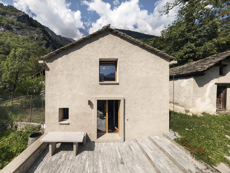 Ruinelli Associati Architetti : Studio Cascina Garbald - best architects 21