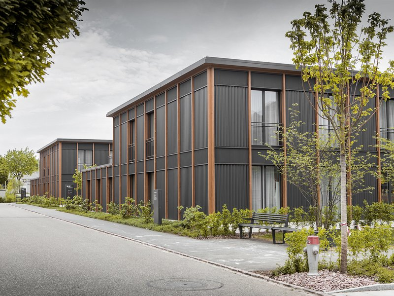 SCHMID ZIÖRJEN ARCHITEKTENKOLLEKTIV: Residential home and studios for people with disabilities - best architects 21