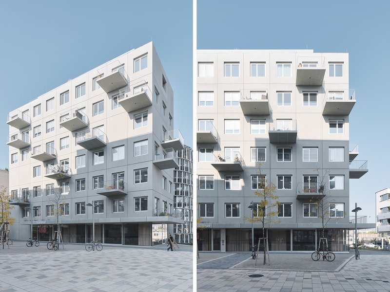 Franz&Sue: Stadtelefant. Neighbourhood building and architectural cluster - best architects 21
