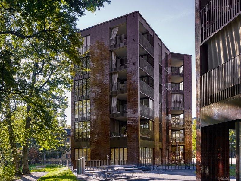 BS+EMI Architektenpartner: Am Katzenbach IV/V residential complex - best architects 21 in gold