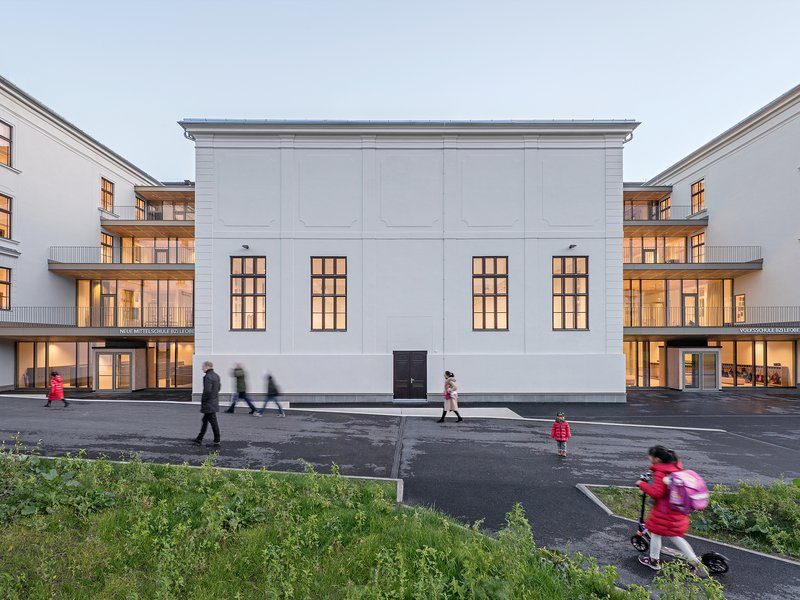 Franz&Sue: Central Leoben education centre - best architects 21