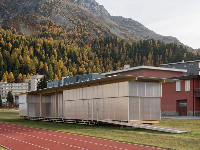 Krähenbühl Architekten Studio / Ingenieurbüro Walter Bieler: St. Moritz altitude training and competition centre  - best architects 21