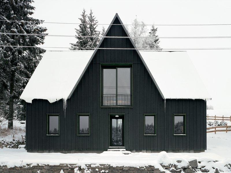 büro voigt: Forest House Tellerhäuser - best architects 22
