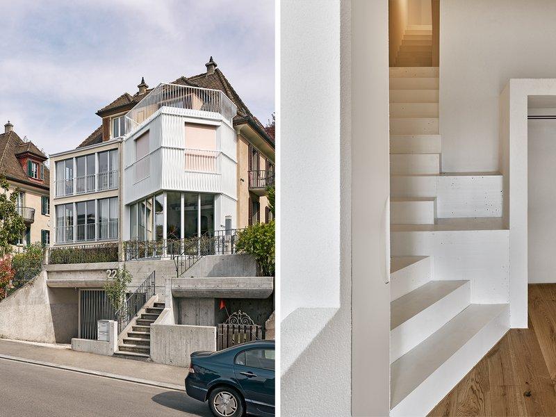Anaïs Architektur: Umbau und Anbau Doppeleinfamilienhaus - best architects 22