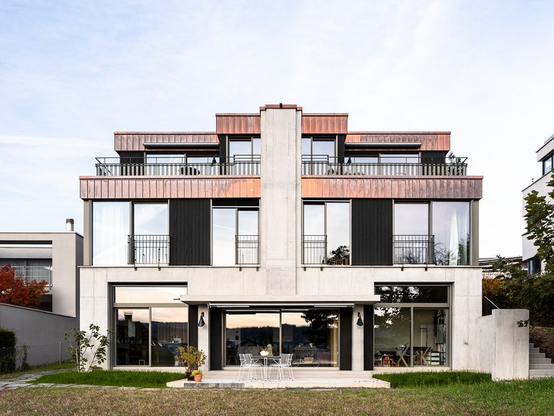 Käferstein & Meister Architekten: Three-family house «George» - best architects 22 in Gold