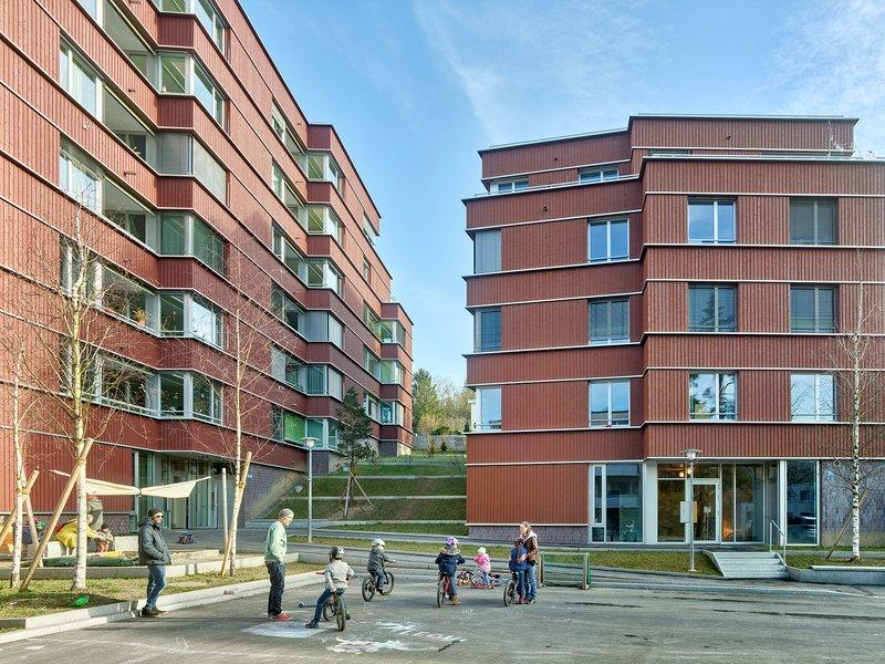 Baumberger & Stegmeier: New-build Witikonerstrasse - best architects 22