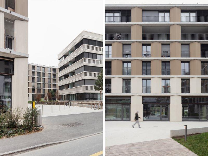 Aeby Perneger & Associés: Neuer Stadtteil «Les Halles» - best architects 22