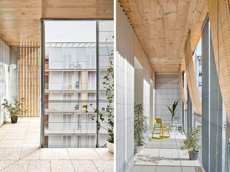 PERIS+TORAL ARQUITECTES: Sozialwohnungsbau in Cornellà - best architects 22 in Gold