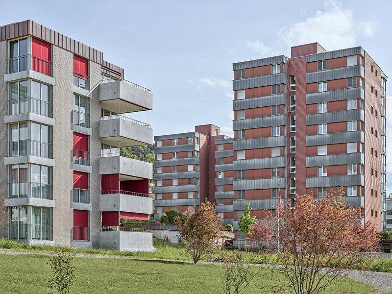 Lütolf und Scheuner Architekten: Chlihus 2 residential development - best architects 22
