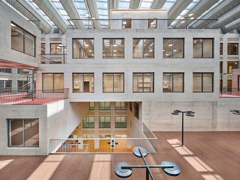 pool Architekten: Haus Adeline Favre, ZHAW, Departement Gesundheit - best architects 22