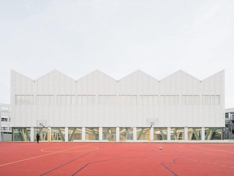 wulf architekten: Sports Centre School Campus Überlingen - best architects 22