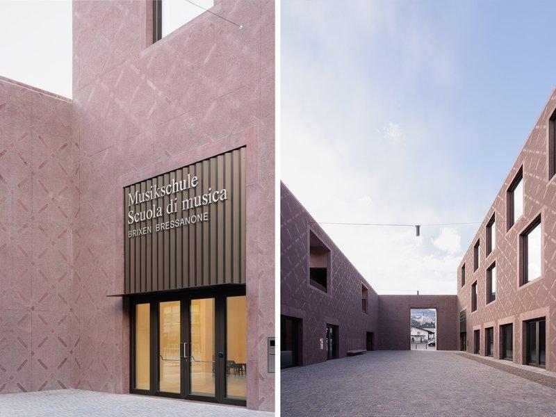 Carlana Mezzalira Pentimalli: Bressanone Music School - best architects 22 in gold