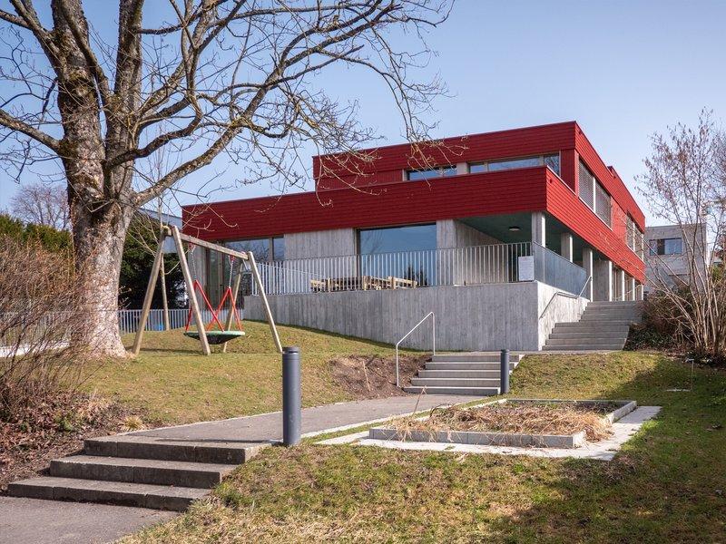 schoch tavli architekten: Double kindergarten Brotegg - best architects 22