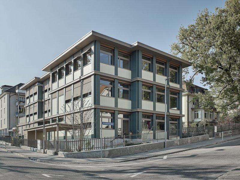 nuak: Kindergarten und Tagesschule Depotstrasse Bern - best architects 22