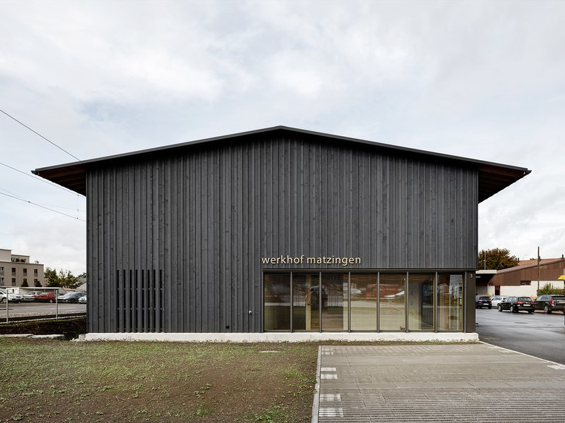 lilin architekten: New construction of Matzingen workshop - best architects 22
