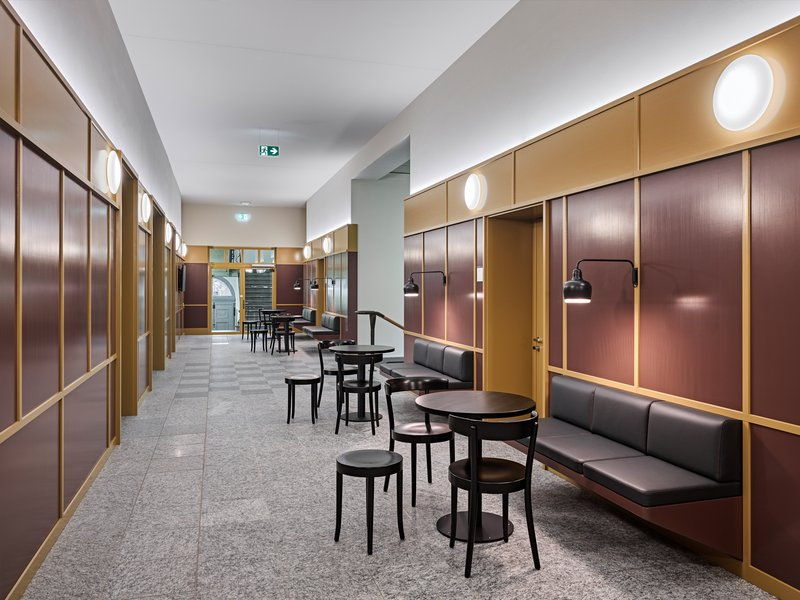 GFA Gruppe für Architektur: Umbau Museum zu DSI Center, Universität Zürich - best architects 22