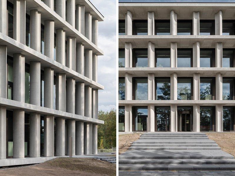 Bögl Gierer Architekten: Office building 55, MB campus in Sengenthal - best architects 22
