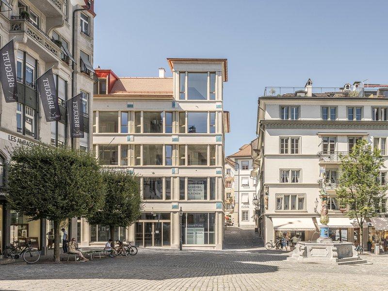 Joos & Mathys Architekten: Wohn- und Geschäftshaus Kapellplatz Luzern - best architects 22