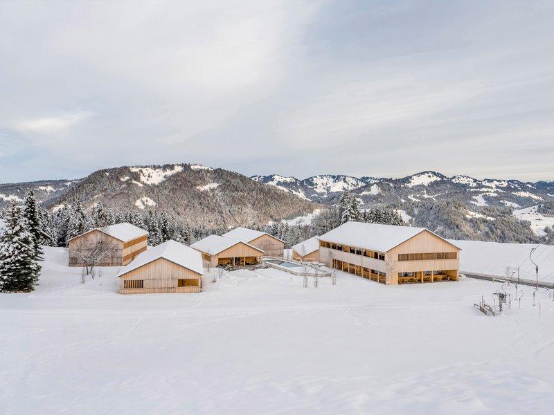 Ludescher + Lutz Architekten: Fuchsegg Eco Lodge Hotel - best architects 22