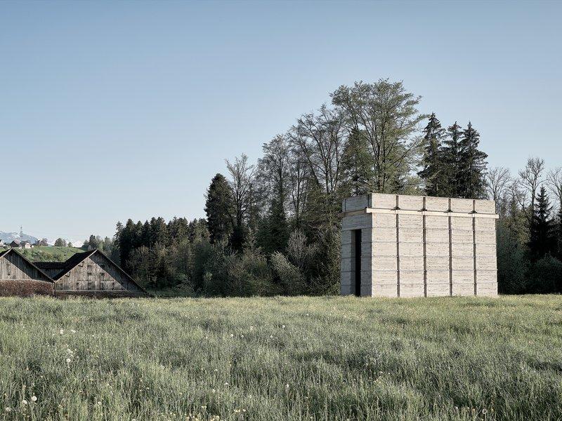 Boltshauser Architekten: Rammed earth tower, Cham - best architects 22 in gold